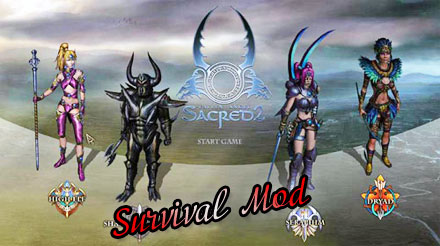 Survival Mod для Sacred 2 Community Patch