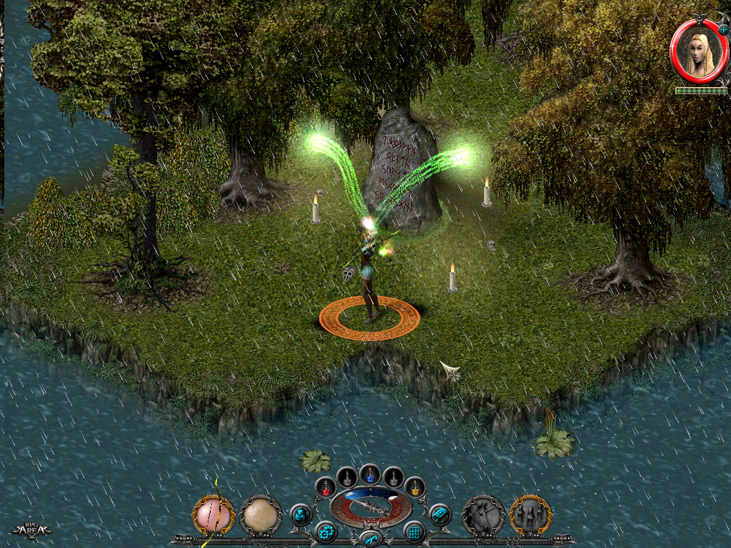 Features of sacred and similar games features game feature sacred